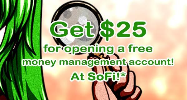 SoFi Free Cash Slider