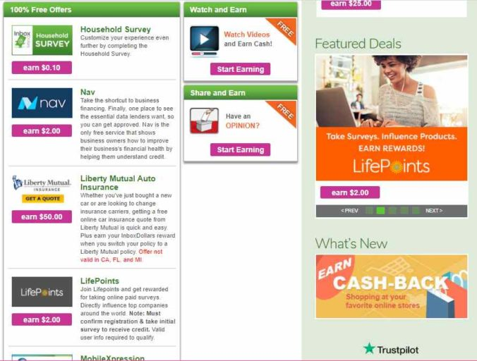 Easy Cash Page